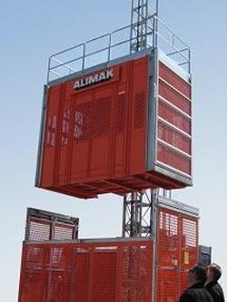 Грузопассажирский подъемник Alimak Scando 650 XL