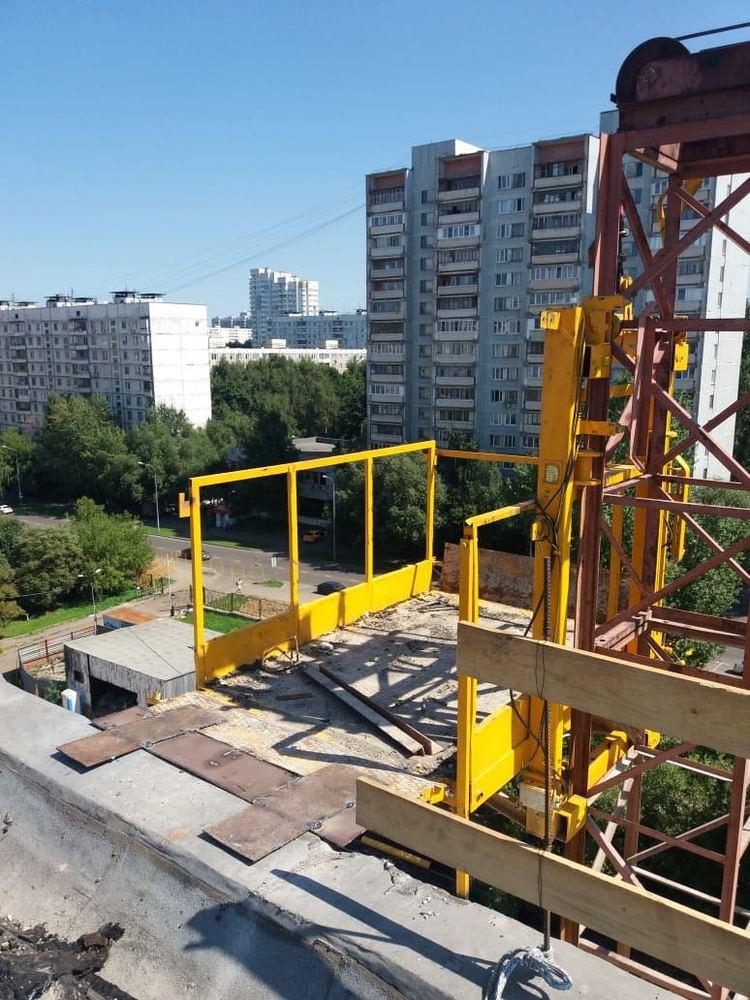 Грузовой мачтовый подъемник ПМГ-1500, 2016 г.