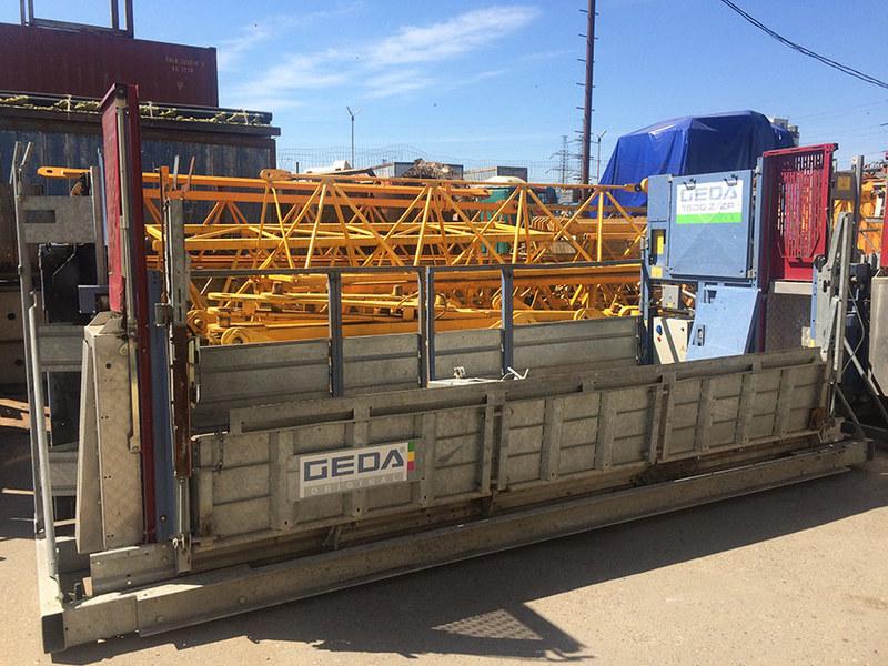 Аренда грузового подъемника GEDA 1500Z/ZP