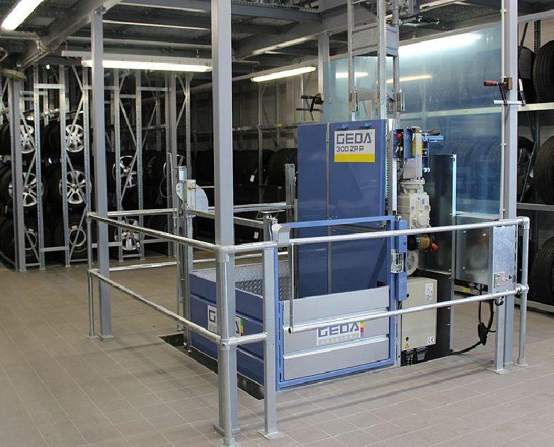 Промышленный подъемник GEDA 300 ZP P