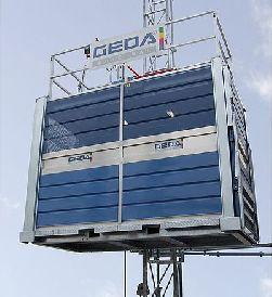 Аренда грузопассажирского подъемника GEDA Multilift P22