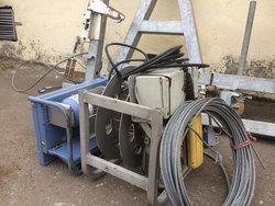 Строительная электрическая лебедка Geda AB 650 б/у