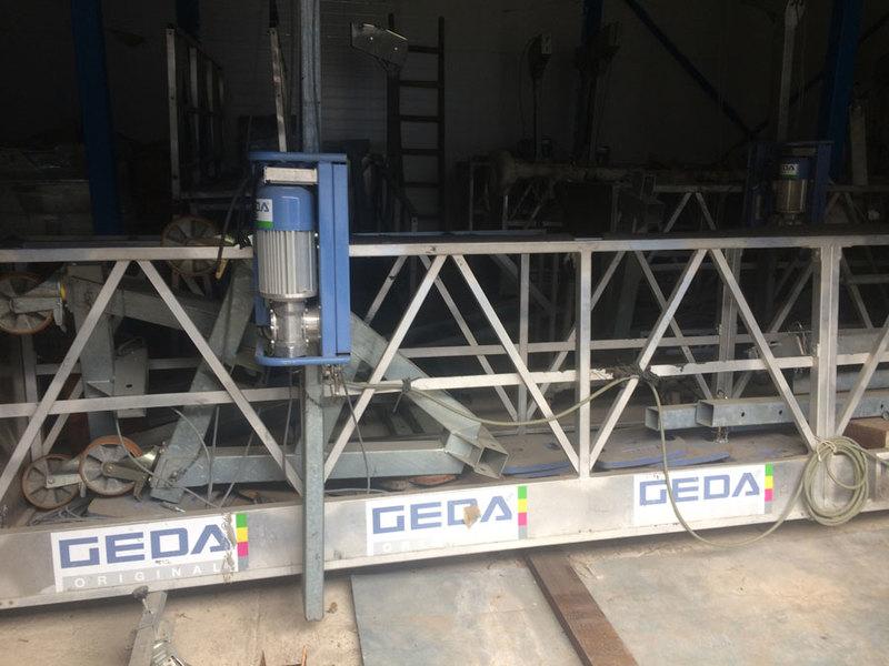 Фасадная люлька GEDA AB 650 б/у