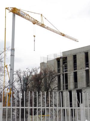 Первые краны Potain Hup поставлены в Россию