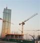 Шесть кранов Potain помогают в строительстве башни в Белграде