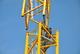 Монтаж башенного крана на стройке