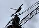 Potain MCT 58 установлен вертолетом на плотине гидроэлектростанции у подножия вулкана