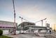 Три крана Potain строят больницу будущего в Тревизо, Италия